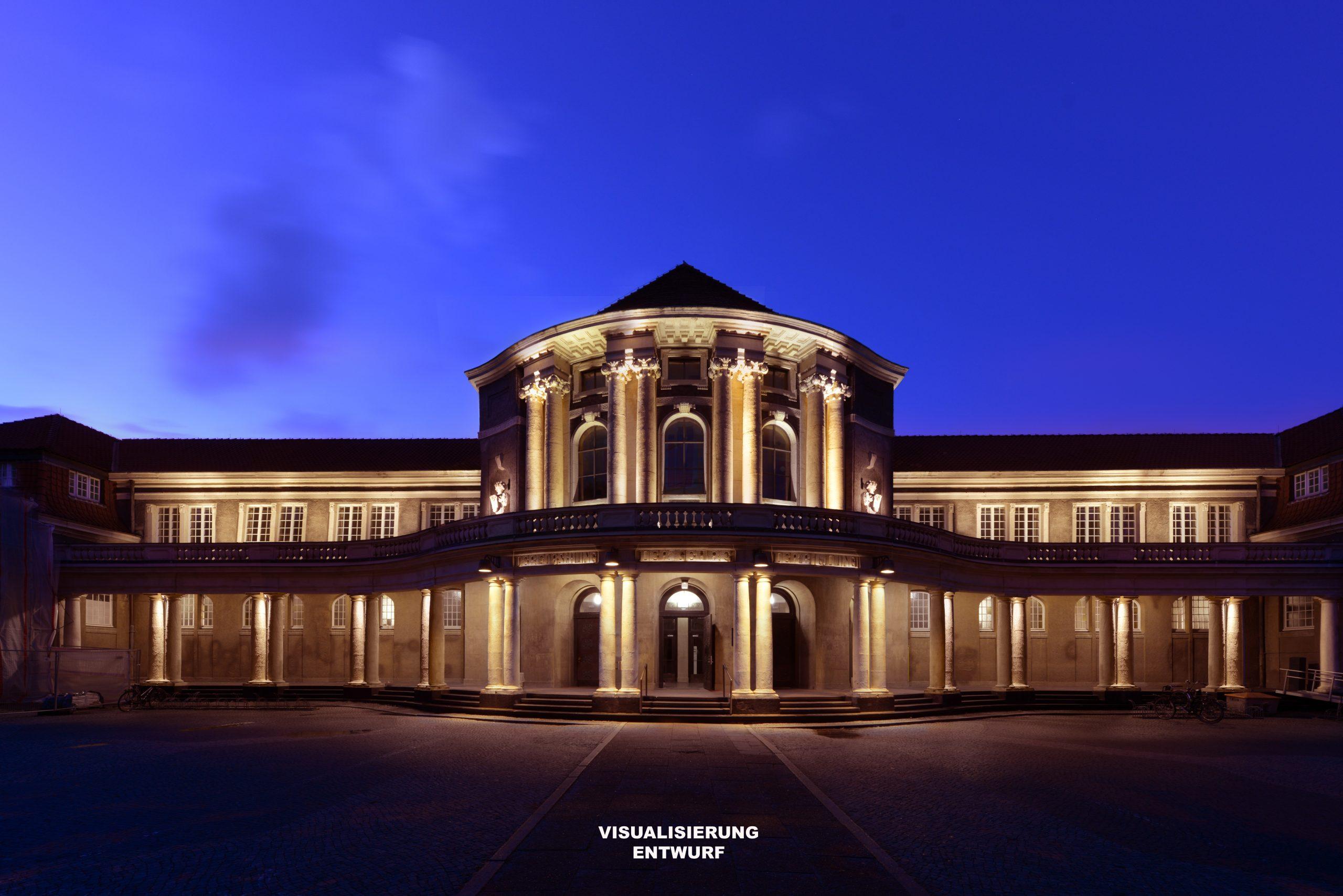 Galeriebild / Universität Hamburg, Sanierung des Hauptgebäudes – 100 Jahre Universität Hamburg