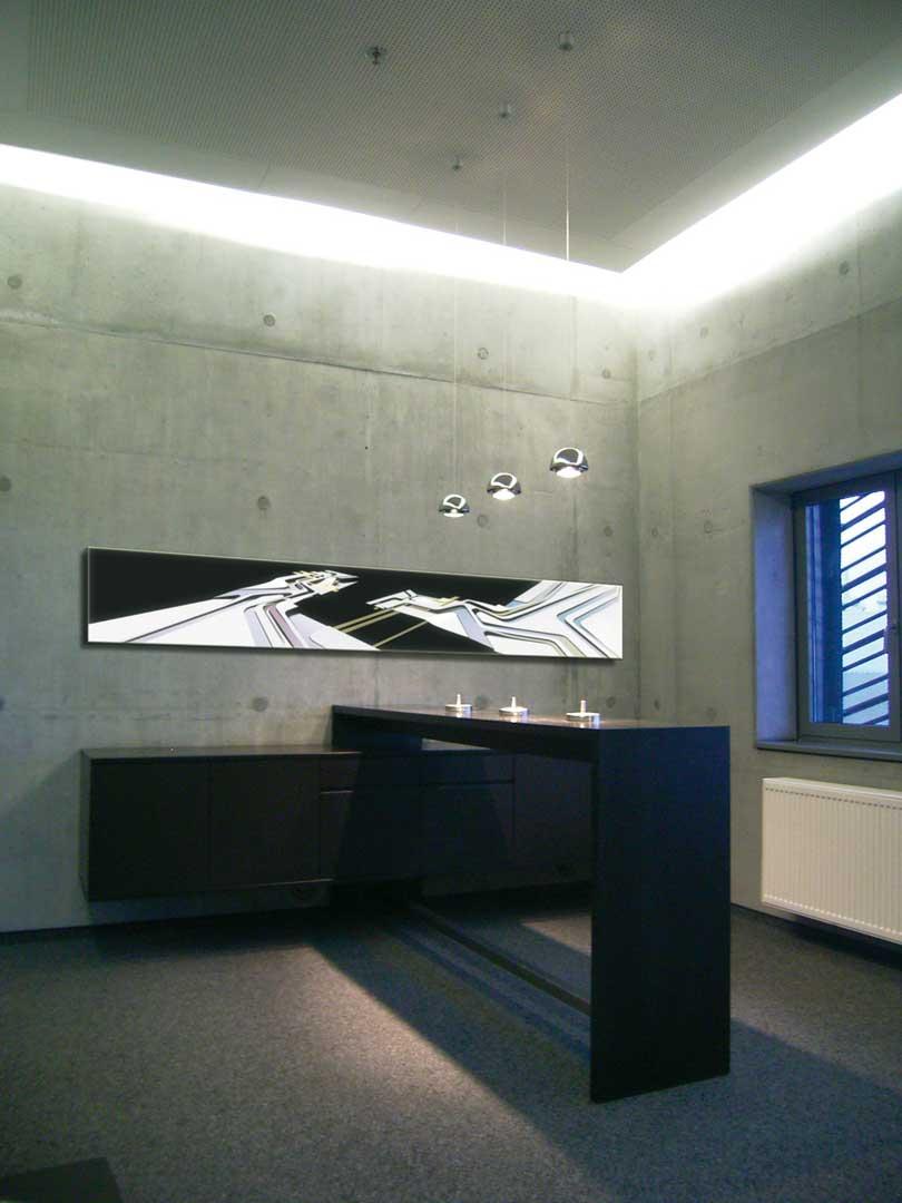 Galeriebild / BMW Werk Leipzig Raucherlounge