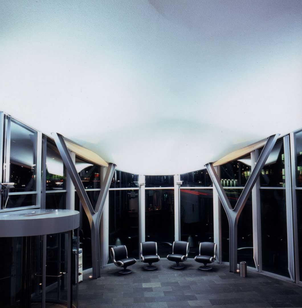 Galeriebild / Lufthansa Basis Hamburg, Lichtplanung des Empfangsgebäudes und der Außenanlagen