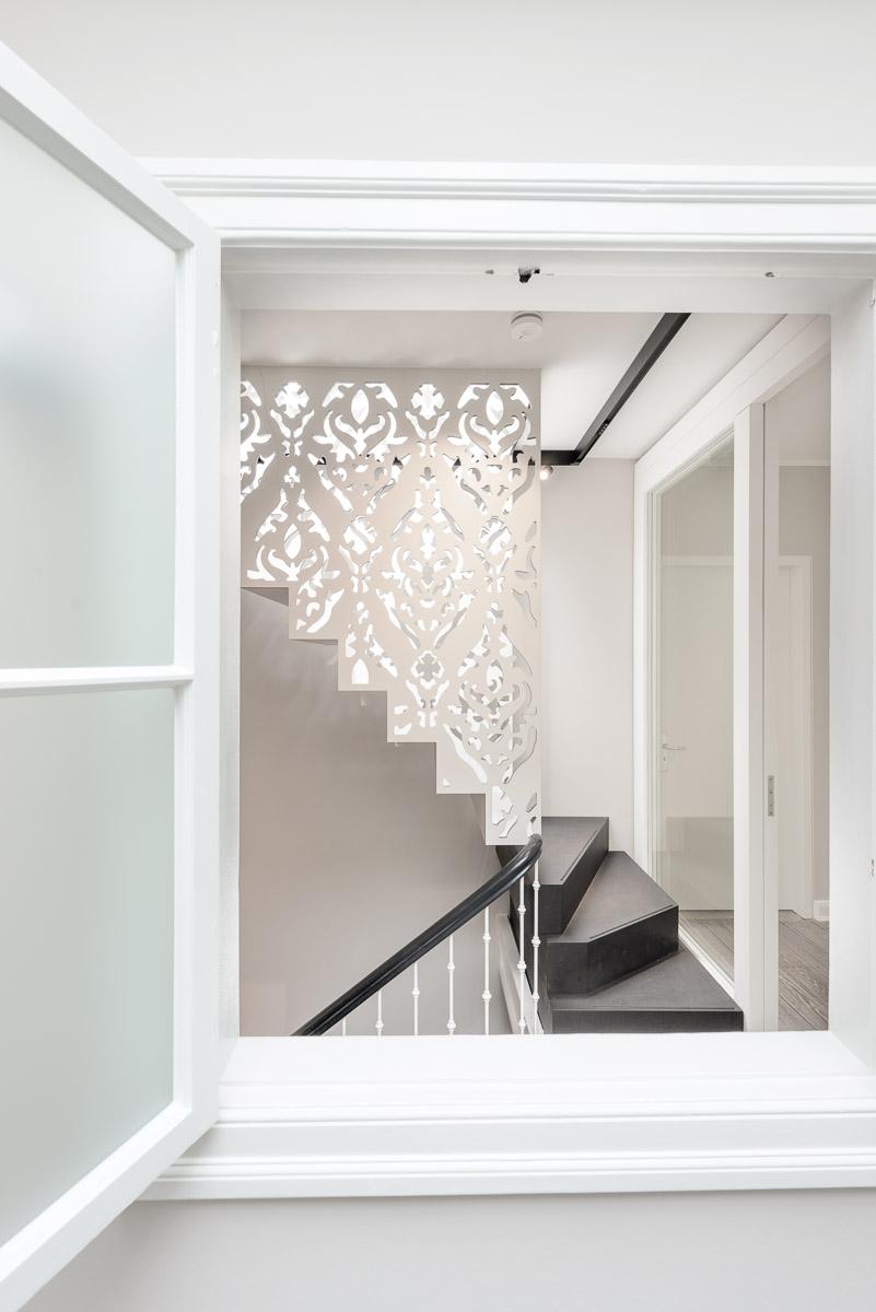 Galeriebild / Lichtplanung für eine Treppe in einer Villa in Hamburg