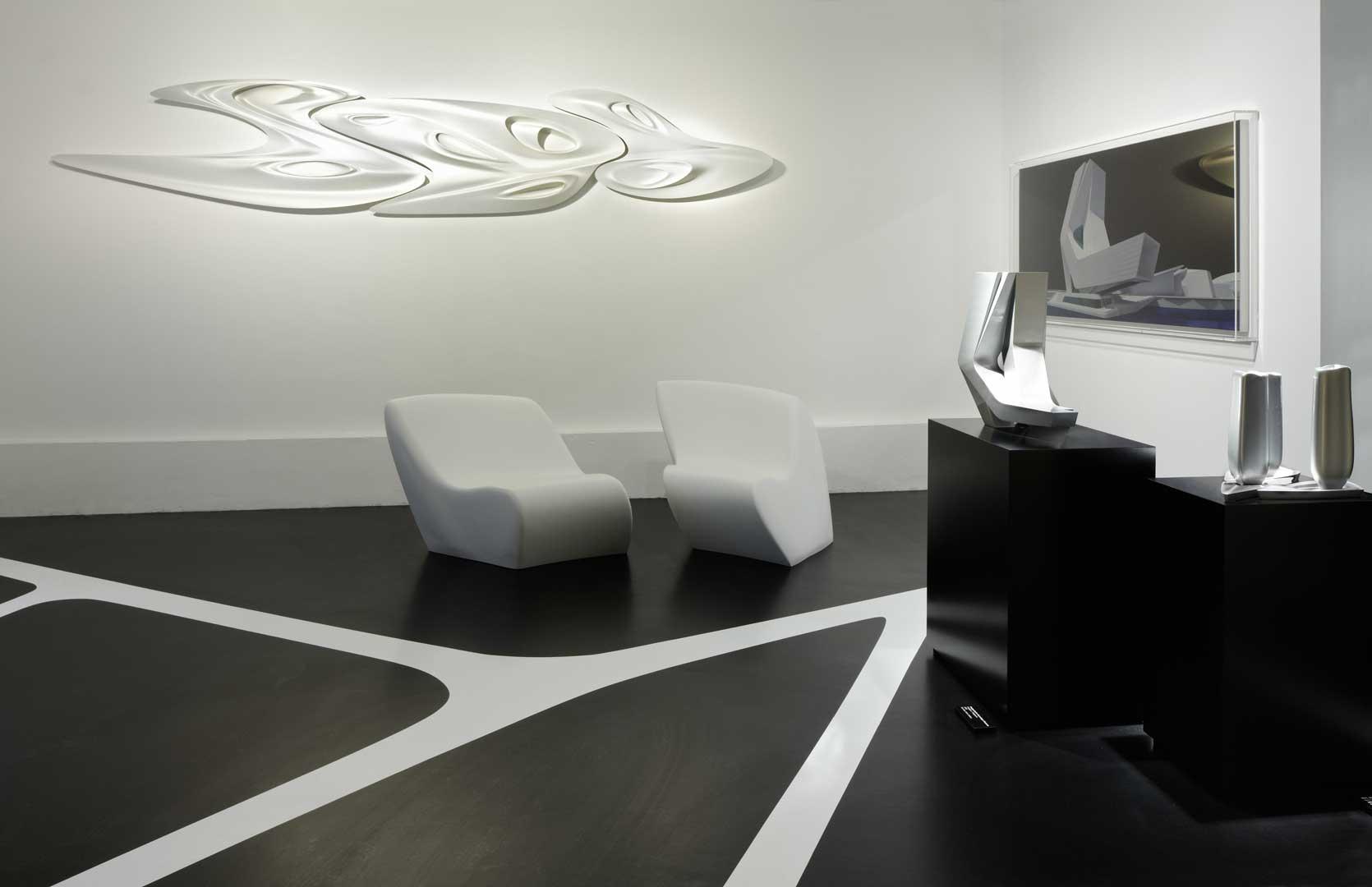 Galeriebild / Zaha Hadid Architects, Werkschau Parametric Tower Research im Rahmen des AIT-Salons